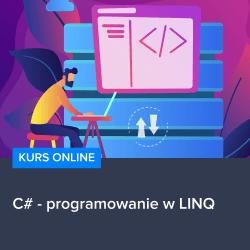 c sharp programowanie w linq - Kurs C# - programowanie w LINQ