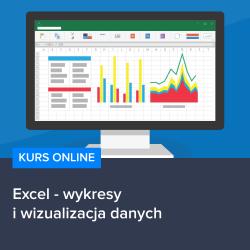 Kurs Excel - wykresy i wizualizacja danych