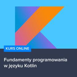 kotlin - Fundamenty programowania w języku Kotlin