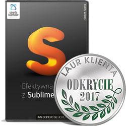 Efektywna praca w Sublime Text - Kurs Efektywna praca w Sublime Text