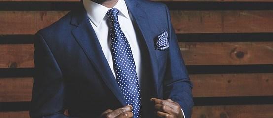 ubiór eleganckiego mężczyzny