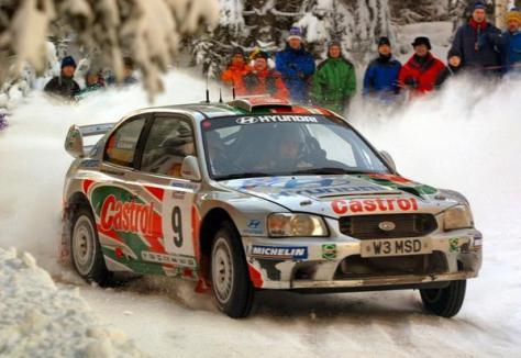 Ралли Швеции 2001 - Кеннет Эриксон - Хендэ