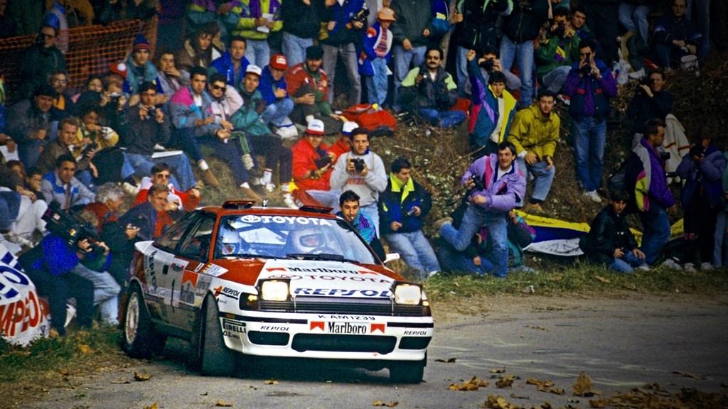 RallyRACC 1991 Armin Schwarz Toyota Celica GT4