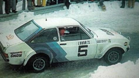 Форд Эскорт 1979 года Ханну Миккола