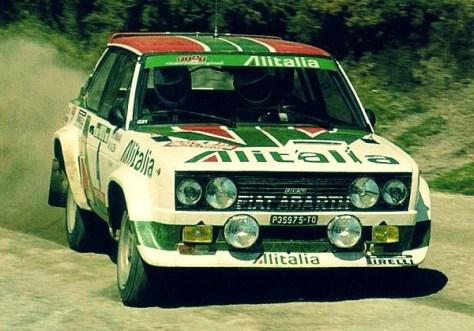 Маркку Ален - Ралли Португалии 1978 - ФИАТ