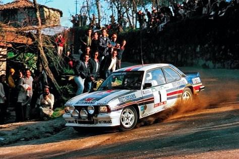 Ралли Португалии 1982 - Вальтер Рёрль - Опель Аскона 400