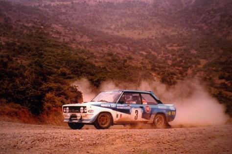 Акрополис ралли 1980 - Вальтер Рёрль - Фиат 131 Абарт