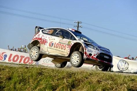 Ралли Польши 2014 - Роберт Кубица - Форд