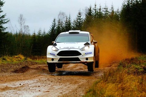Ford Fiesta RS WRC 2015 - тэст