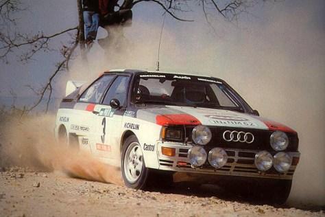 Ралли Португалии 1983 - Ханну Миккола - Ауди
