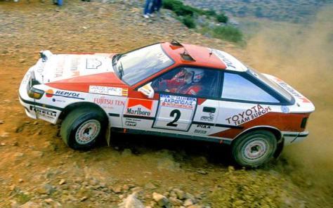 Ралли Акрополис 1990 - Карлос Сайнс- Луис Мойя - Тойота