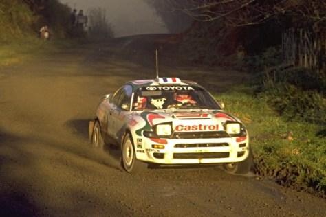 Ралли Новой Зеландии 1994 - Дидье Ориоль - Тойота