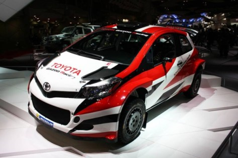 YARIS WRC Test car - Токийский автосалон 2015