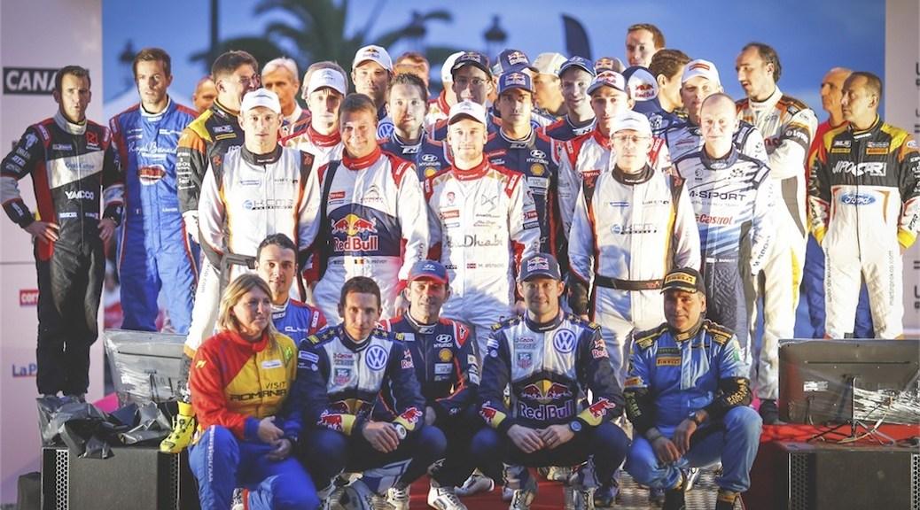 Тур де Корс - Ралли Франции 2015 - Стартовая церимония