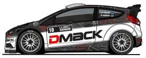 Отт Тянак - DMACK - Форд