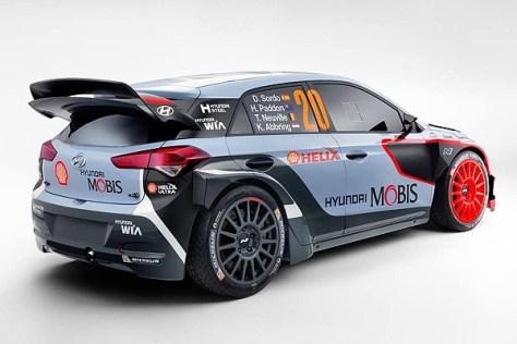 Hyundai i20 WRC '16 - Hyundai Motorsport N - ливрея