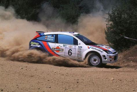Ралли Акрополис 2000 - Карлос Сайнс - Форд