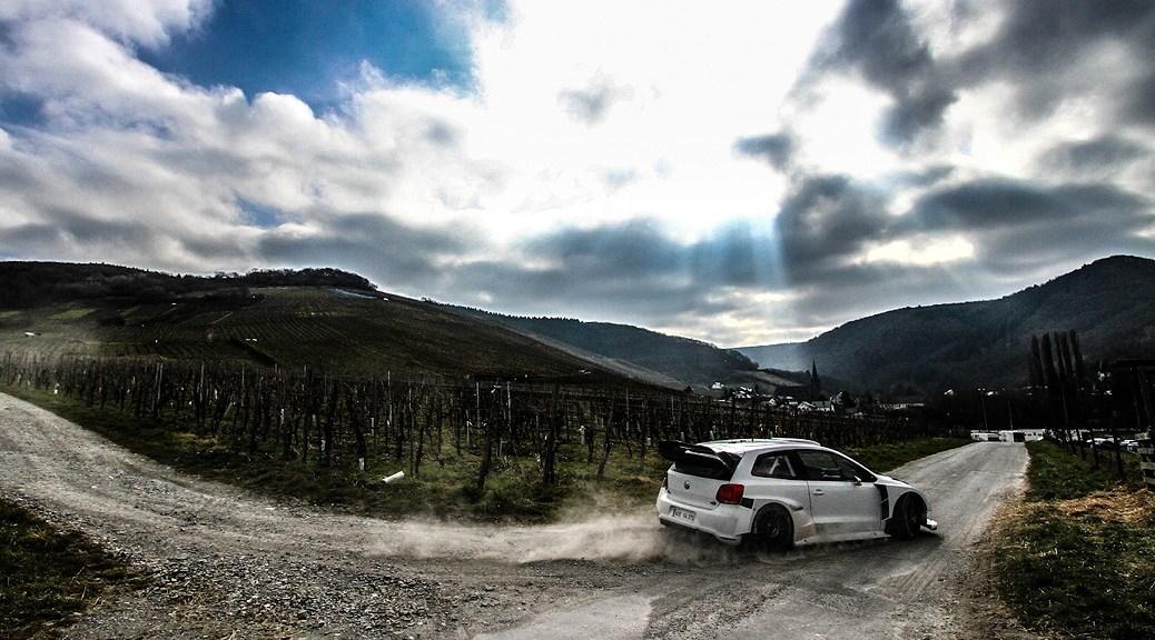VW Polo R WRC 2017 - Тест