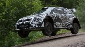 VW Polo WRC 2017 - Маркус Гронхольм - 21.07.2016
