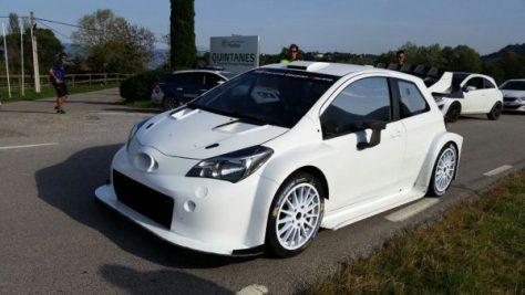 Toyota Yaris WRC 2017 - 24.10.2016 - тест в Испании