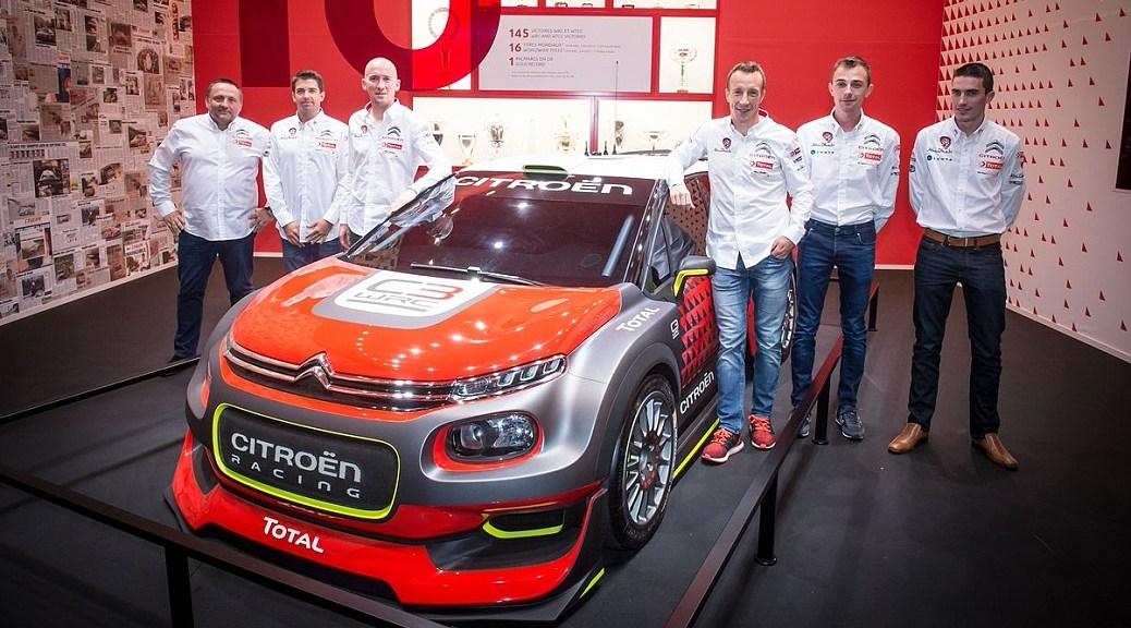 Citroen C3 WRC - Paris Motor Show 2016