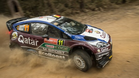 Ралли Австралии 2013 - Тьерри Невилль - Форд