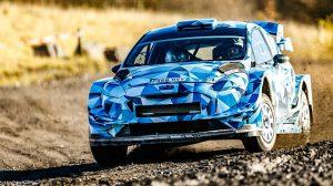 Себастьен Ожье - Ford Fiesta WRC 2017 - 25.11.2016