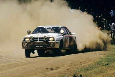 Ралли Сафари 1984 - Бьорн Вальденгорд - Тойота