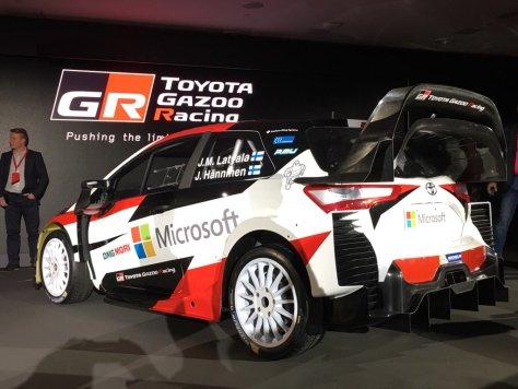 Презентация Toyota Yaris WRC 2017
