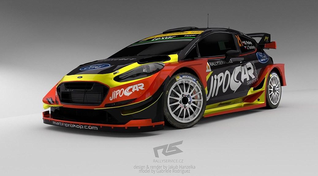 Ford Fiesta WRC 2017 - Мартин Прокоп - М-Спорт