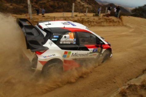 Ралли Аргентины 2017 - Яри-Матти Латвала - Миикка Анттила - Toyota Yaris WRC