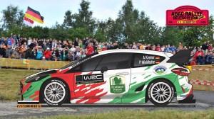 Ралли Германии 2017 - ливрея Ford Fiesta WRC Армина Кремера