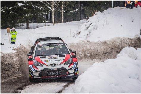 Ралли Швеции 2018 - Эсапекка Лаппи - Тойота