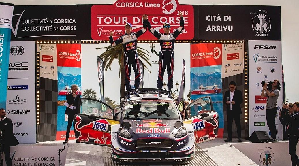 Тур де Корс 2018 - Себастьен Ожье - Жульен Инграссия - М-Спорт Форд