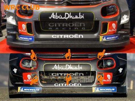 Сплиттеры Citrien C3 WRC
