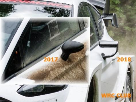 Зеркала заднего вида Fjrd Fiesta WRC