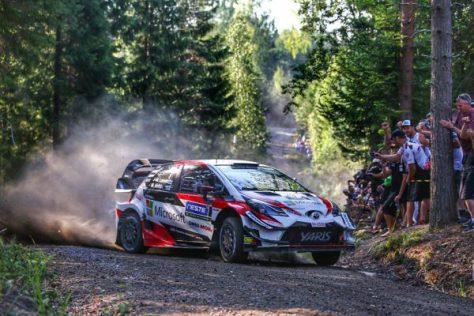 Ралли Финляндии 2018 - Яри-Матти Латвала - Тойота