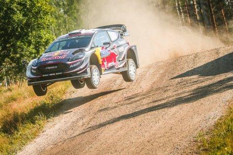 Ралли Финляндии 2018 - Себастьен Ожье - М-Спорт Форд