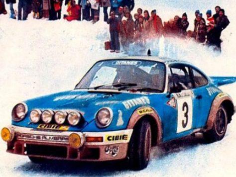 Ралли Монте-Карло 1978 - Жан-Пьер Николас - Порше