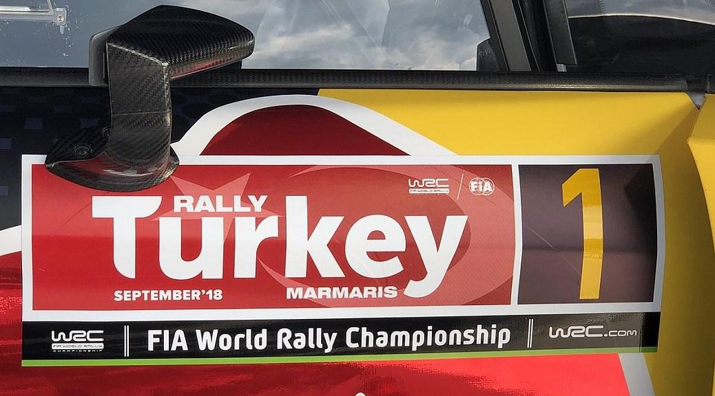 Ралли Турции 2018
