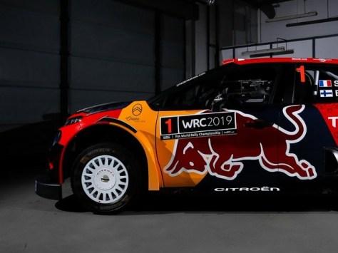 Citroen C3 WRC Себастьена Ожье под №1