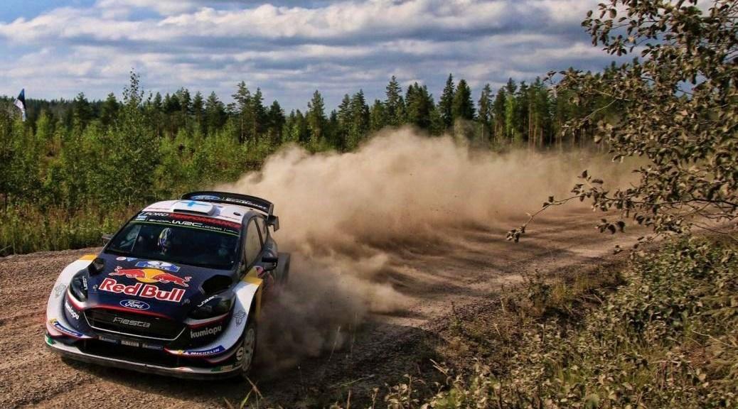 Ралли Финляндии 2018 - Теему Сунинен - М-Спорт Форд