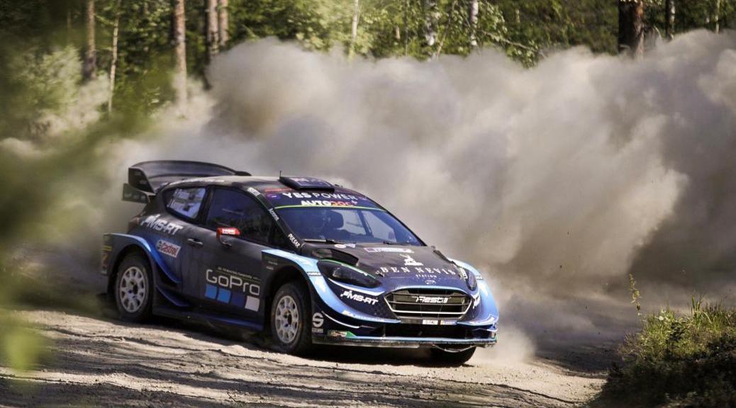 Тест перед Ралли Финляндии 2019 - Хайден Паддон - М-Спорт Форд