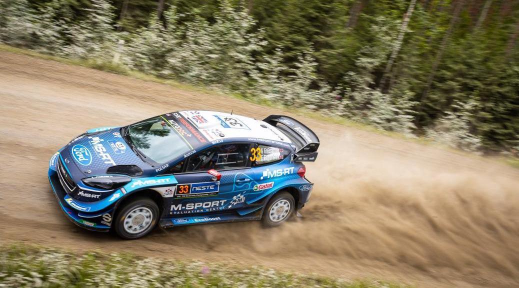 Ралли Финляндии 2019 - Гас Гринсмит - М-Спорт Форд