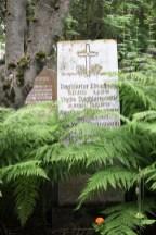 auf dem alten Friedhof in Reykjavík