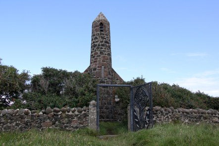 "St. Colomba's Church, Canna (""rocket church"")"