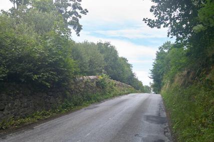 typische schottische Landstraße