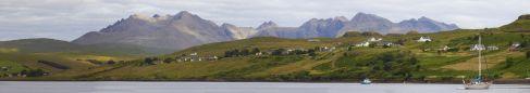 Panorama von Cabost / Skye