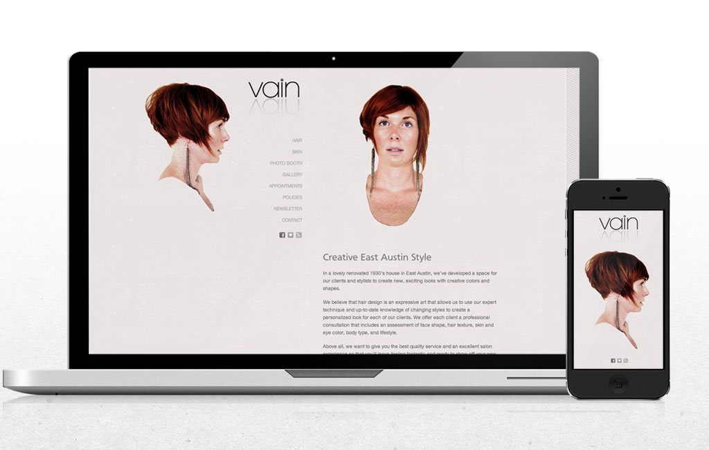 vain-website