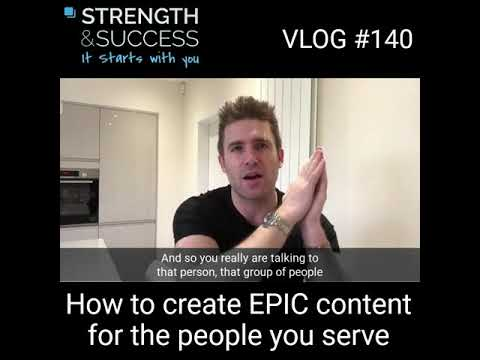 VLOG 140 – Epic content